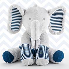 Louie The Elephant Plush Plus Socks
