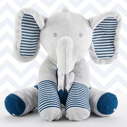 Louie The Elephant Plush Plus Socks