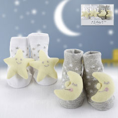 Lullaby Rattle Socks