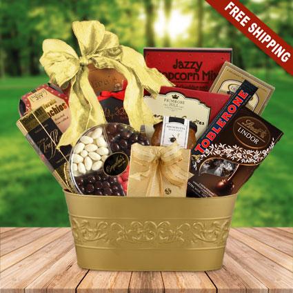 Luxury Sweets Gift Basket