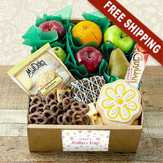 Mother's Day Fruit N' Goodies Gift Box