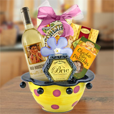 Mad Housewife Chardonnay Ceramic Gift Bowl