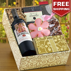 Mad Housewife Red Wine & Gourmet Gift Box
