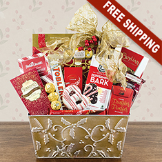 Majestic Holiday Gourmet Gift Basket