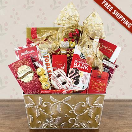 Majestic Gourmet Gift Basket