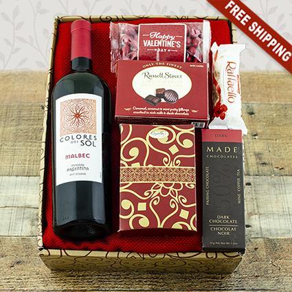 Malbec & Chocolate Gift Box