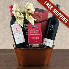 Malbec Red Duo Gift Basket
