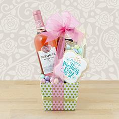 Mom's Beringer Blush Wine Gift Box