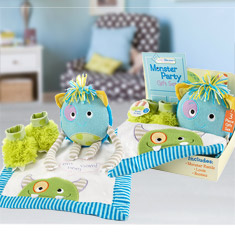 Monster Party 3-Piece Gift Set