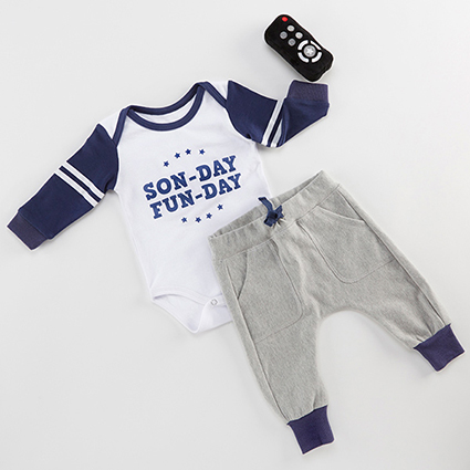 My First Gameday Layette Set