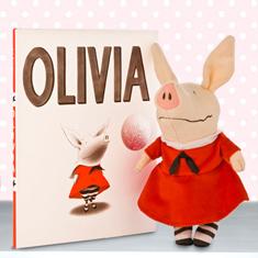 Olivia Doll & Hardcover Book Gift Set