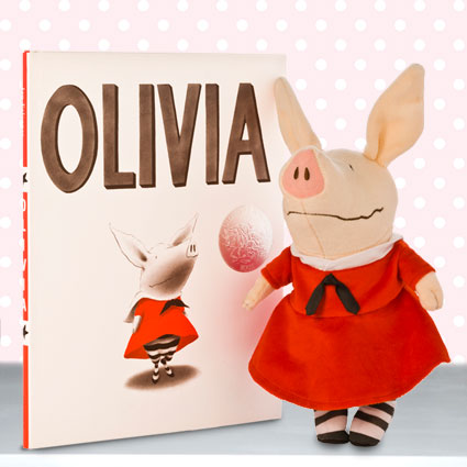 Olivia Doll & Hardcover Book Gift Set
