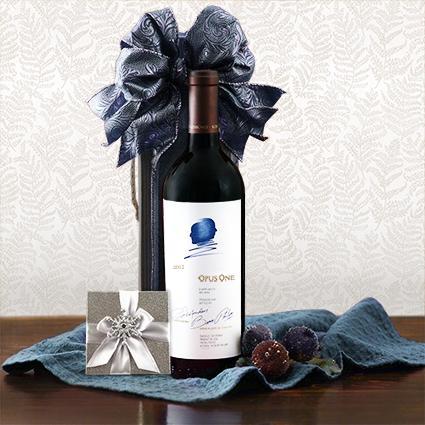 Opus One & Truffles Wine Gift Box
