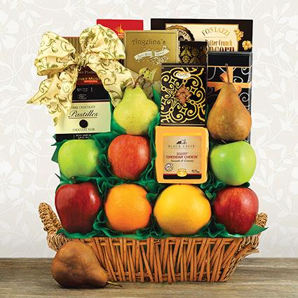 Orchard Fruit Gift Basket