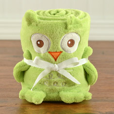 Owl Buddy Blanket
