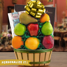 Passover Chocolates & Fresh Fruit Gift Basket