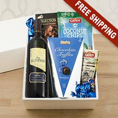Passover Merlot & Snax Gift Box