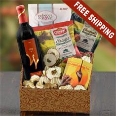 Passover Red Wine & Gourmet Gift Box