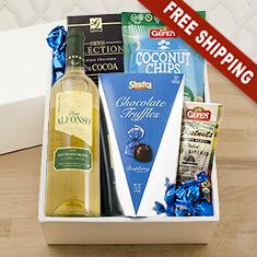 Passover Sauv Blanc & Snax Gift Box
