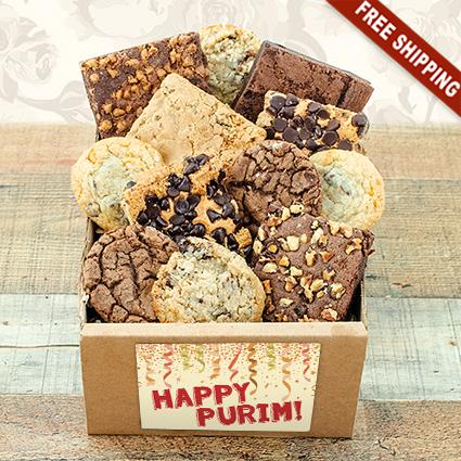 Purim Sweet Tooth Bakery Box