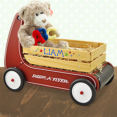 Personalized Walker Wagon Boy