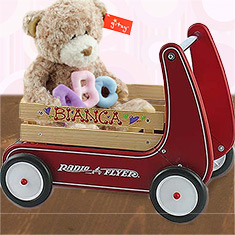Personalized Walker Wagon Girl