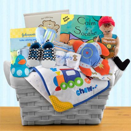 Pampered Boy Gift Basket
