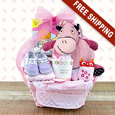 Pampered Girl Gift Basket