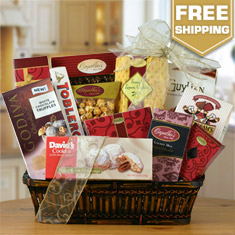 Party Time Gourmet Gift Basket