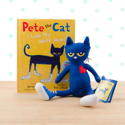 Pete the Cat I Love My White Shoes Doll & Hardcover Book