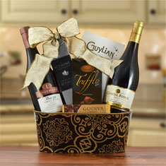 Pinot Noir Duo Wine Gift Basket
