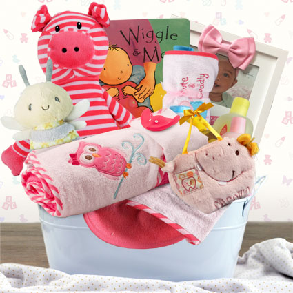 Precious Girl Gift Basket