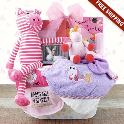 Precious Girl Gift Basket