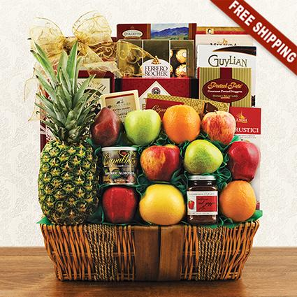 Premier Fruit Gift Basket