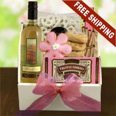 Pretty In Pink Wine Gift Box