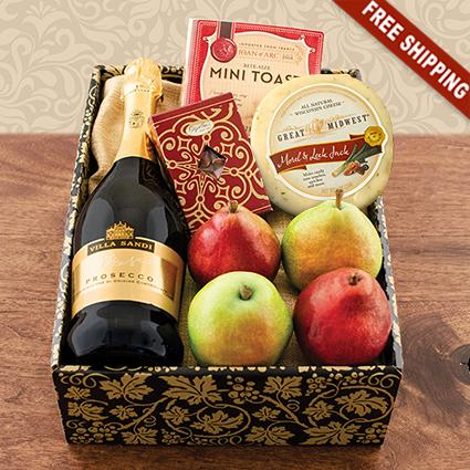 Prosecco & Pears Gift Box