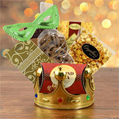 Purim Crowning Touch Gourmet Gift Basket