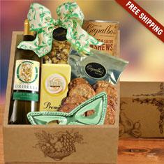 Purim Party White Wine Gift Box