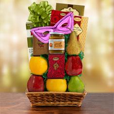 Purim Sea of Galilee Fruit & Kosher Food Gift Basket