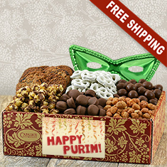 Purim Super Snacker's Gourmet Gift Box