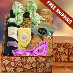 Purim Wine Party Gift Box