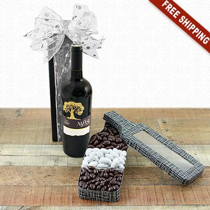 Red Wine & Chocolates Gift Set