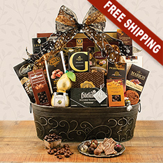 Caring Compassion Gourmet Gift Basket