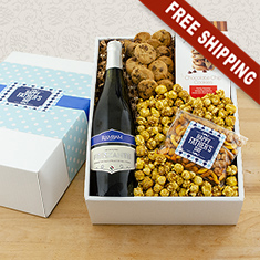 Relax, Dad White Wine Gift Box