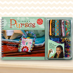 Ribbon Purses Book by Klutz