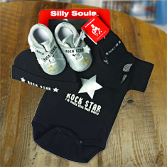 Rock Star Baby Gift Set