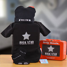 Rock Star Baby Boy Gift Set