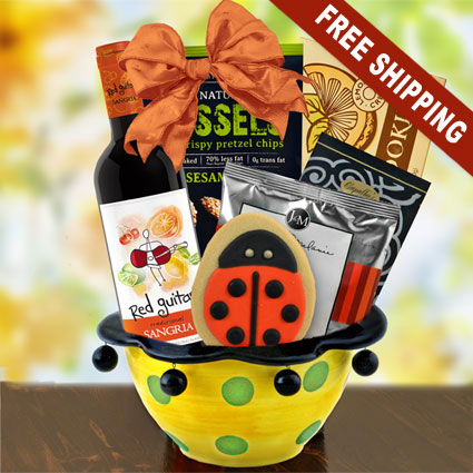 sangria red wine ceramic gift bowl fiesta capalbos gift. Black Bedroom Furniture Sets. Home Design Ideas