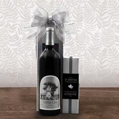 Silver Oak Alexander Valley Cab Sauv & Wine Gift Box