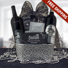 Silver Oak Duo Wine Gift Basket